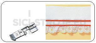 Patka pro všívání dutinek, lampasů 5mm
