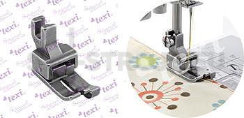 Patka kompenzační pro domácí šicí stroje, pravá 4.0 mm