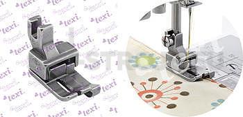 Patka kompenzační pro domácí šicí stroje, pravá 6.0 mm