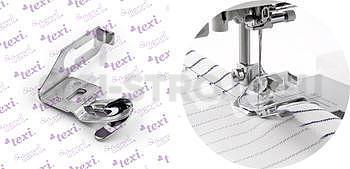 """Lemovač pro domácí šicí stroj, lemovka 1/4"""" (6.5 mm)"""