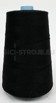 Nitě na pytlovačku 200 g, barva černá