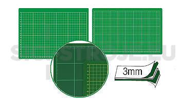 Řezací podložka 300x220x3mm/A4 tx039