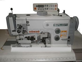 Šicí stroj SIRUBA UF918-X2-12P šicí stroj s 3 x podáváním a ořezem ( kpl ) - 1