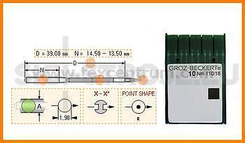 Jehly UY128GBS Groz-beckert #65/9SUK/FG