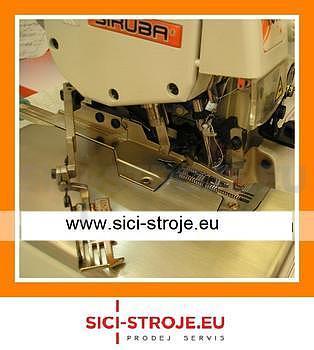Šicí stroj, overlock SIRUBA 757DFT-516H4-56 5-nitný overlock, horní podávání 5+6m ( kpl ) - 2