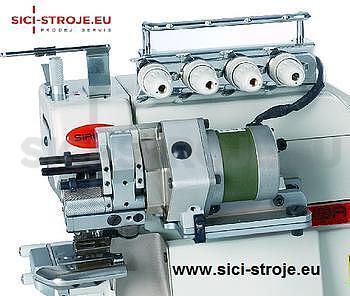 SIRUBA Šicí stroj Overlock 747FS-514M2-24B/LF-D3 4-nitný overlock na gumičky ( kpl ) - 2