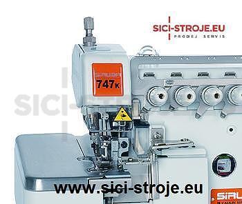 SIRUBA Šicí stroj Overlock 747K-514M7-24 4-nitný overlock na těžké pleteniny 2+4 ( kpl ) - 2