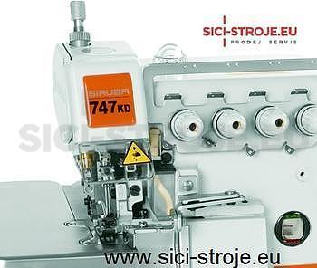 SIRUBA Šici stroj Overlock 747KD-514M2-24 4-nitný overlock 2+4 mm, servomotor ( kpl ) - 2