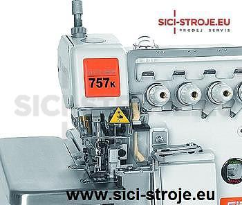 Šicí stroj Overlock SIRUBA 757K-516M2-55 5-nitný overlock, šířka stehu 5+5 mm ( kpl ) - 2