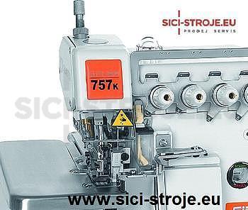 Šicí stroj Overlock SIRUBA 757KD-516M2-55 5-nitný overlock 5+5 mm, servomotor ( kpl ) - 2
