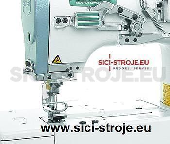 Šicí stroj Coverlock SIRUBA F007J-U122-232/FP šicí stroj na šití sámků ( kpl ) - 2