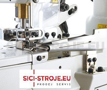 Šicí stroj Coverlock SIRUBA F007K-W222-248/FQ spodem vrchem krycí paspulovací ( kpl ) - 2
