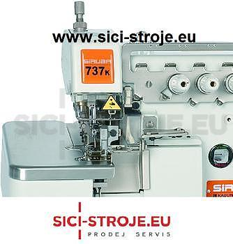 Šicí stroj, overlock SIRUBA 737K-504M1-15 3-nitný overlock s úzkým stehem ( kpl ) - 2