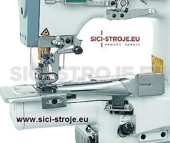 Šicí stroj Coverlock SIRUBA C007J-W222-240/CQ spodem vrchem krycí paspulovací ( kpl ) - 2