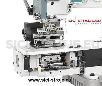 Šicí stroj SIRUBA VC008-12064P 12-jehlový šicí stroj, řetízkový steh ( kpl ) - 2