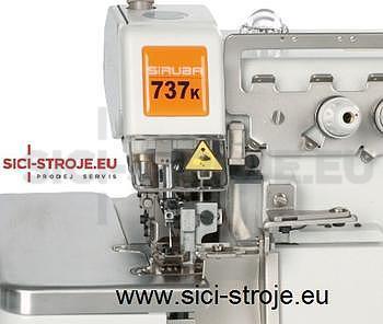 Šicí stroj, overlock SIRUBA 737KD-504M2-04 3-nitný overlock šíře 4 mm, servomotor ( kpl )PRODEJ UKONČEN=NÁHRADA - 2