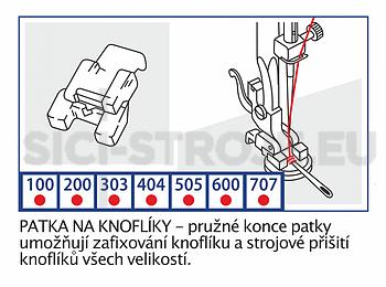 Patka pro přišívání knoflíků - 2