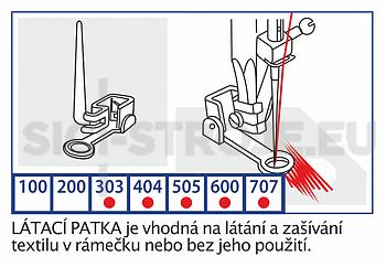 Patka látací - 2