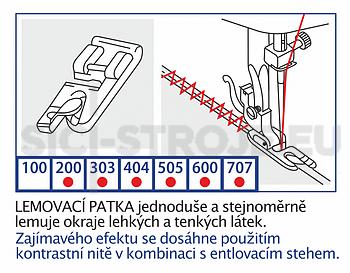 Veronica - Patka lemovací 7mm - 2