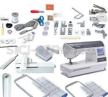 Šicí a vyšívací stroj BROTHER NV 1250 - Nahrazen šicím a vyšívacím strojem Brother F480. - 2