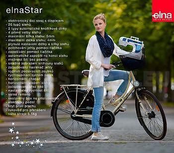 Elna Star - elektronický stroj - NOVINKA - 2