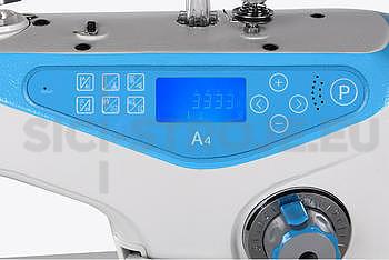 Jack A4 1-jehlový šicí stroj s odstřihem, střední materiály - 2