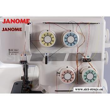 Šicí stroj, overlock JANOME 990D - ZÁRUKA 5 let - 2