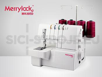 COVERLOCK MK 4050 MERRYLOCK + sada 3 patek zdarma - 2