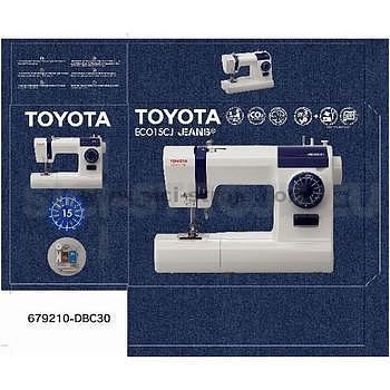 Šicí stroj Toyota ECO 15 CJ+SLEVOVÝ POUKAZ V HODNOTĚ 300KČ - 2