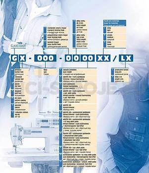 ŠICÍ STROJ GARUDAN GF-117-103 LM (KOMPLET) - 2
