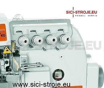 SIRUBA Šici stroj Overlock 747KD-514M2-24 4-nitný overlock 2+4 mm, servomotor ( kpl ) - 3