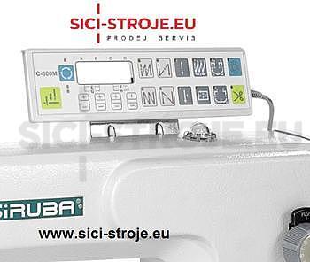 Šicí stroj SIRUBA L819-X2-13 šicí stroj na těžké materiály, odstřih ( kpl ) - 3