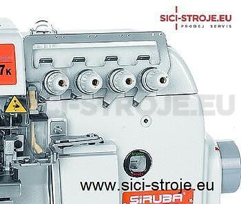 Šicí stroj Overlock SIRUBA 757KD-516M2-35 5-nitný overlock 3+5 mm, servomotor ( kpl ) - 3
