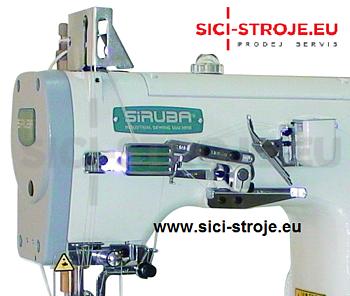 Šicí stroj Coverlock SIRUBA C007JD-W812-356/CRL/UTP/RL krycí steh, ořez, odstřih ( kpl ) - 3