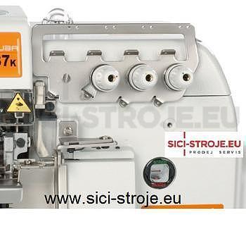 Šicí stroj, overlock SIRUBA 737K-504M3-05 3-nitný overlock, šířka stehu 5mm ( kpl ) - 3