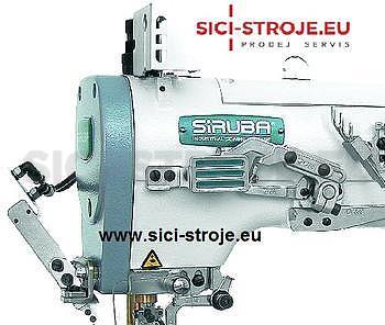 Šicí stroj Coverlock SIRUBA C007J-W122-232/CH šicí stroj spodem vrchem krycí ( kpl ) - 3