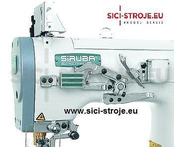Šicí stroj Coverlock SIRUBA C007J-W222-356/CQ spodem vrchem krycí paspulovací ( kpl ) - 3