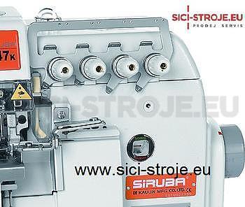 SIRUBA Šicí stroj Overlock 747K-514M7-24 4-nitný overlock na těžké pleteniny 2+4 ( kpl ) - 3
