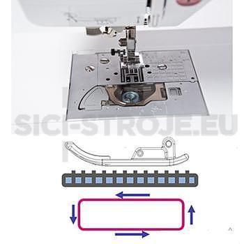 Šicí a vyšívací stroj Brother XV +DÁREK - 3