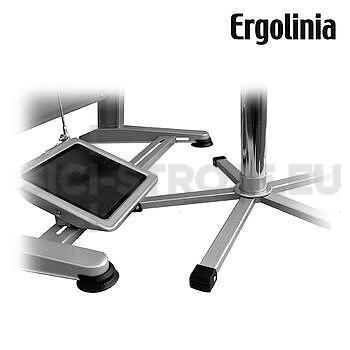 Průmyslová otočná židle dřevěná - pneumatické zvedání - 3