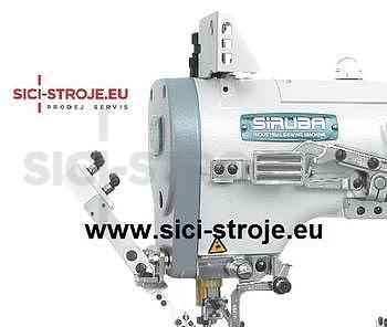 Šicí stroj, coverlock SIRUBA F007JD-W122-240/FHA/UTG spodem vrchem krycí, pneu. odstřih ( kpl ) - 4