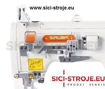 Šicí stroj Coverlock SIRUBA F007K-W222-248/FQ spodem vrchem krycí paspulovací ( kpl ) - 4
