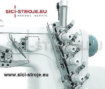 Šicí stroj Coverlock SIRUBA C007J-W122-232/CH šicí stroj spodem vrchem krycí ( kpl ) - 4