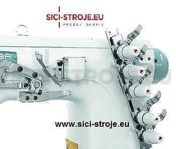 Šicí stroj Coverlock SIRUBA C007J-W222-240/CQ spodem vrchem krycí paspulovací ( kpl ) - 4