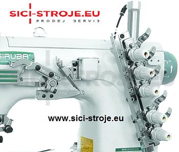 Šicí stroj SIRUBA VC008-12064P 12-jehlový šicí stroj, řetízkový steh ( kpl ) - 4