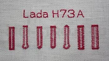 Lada H73A šicí stroj+SLEVOVÝ POUKAZ V HODNOTĚ 500,-KČ - 4
