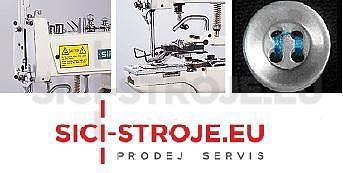 Šicí stroj Knoflíkovací SIRUBA PK511-U šicí stroj na přišívání knoflíků s odstřihem ( kpl ) - 5