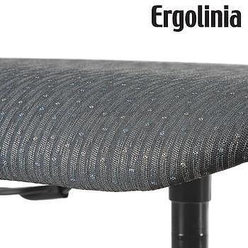 Pracovní židle s polstrováním - pneumatické zvedání - 5