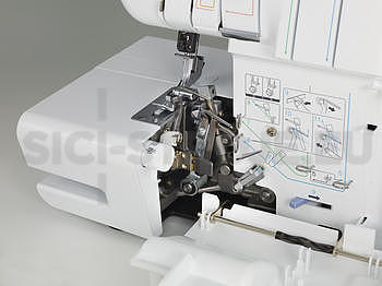 OVERLOCK 2104D BROTHER - 6