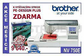 Vyšívací stroj BROTHER INNOV-IS 750E USB+DÁREK - 7